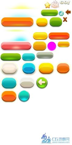button designs children might like Game Ui Design, App Design, Mobile App Games, Ui Buttons, Kids Web, Button Game, Game Props, Game Interface, Game Item