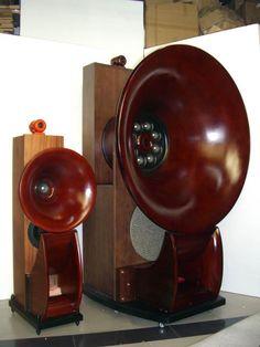 Horn Speakers, Diy Speakers, Hi End, Speaker Stands, High End Audio, Hifi Audio, Loudspeaker, Audio System, Audiophile