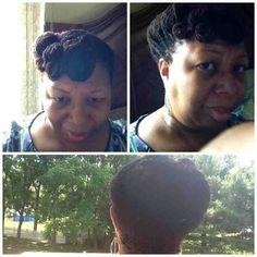 Pin curl SisterLocks Lovely Sisterlocks #dreadlocks +dreadstop @DreadStop - One Love.