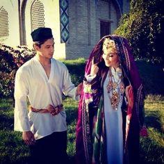 Uzbekistan Kazakhstan, Central Asia, Mongolia, North Africa, Afghanistan, Russia, Sari, Costumes, Traditional