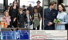 Brad Pitt's distress as Angelina Jolie files for divorce citing 'irreconcilable differences' amid claims he is 'TOO close to co-star Marion Cotillard, has questionable parenting skills, anger issues and substance abuse'
