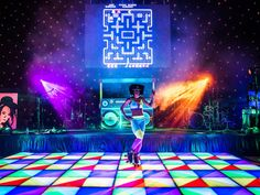 High quality Giant Boombox Prop With Lights - Neon Blue available to hire. View Giant Boombox Prop With Lights - Neon Blue details, dimensions and images. Event Themes, Event Decor, Party Themes, Event Ideas, Theme Ideas, Party Ideas, Disco Theme, 80s Theme, Disco Party Decorations