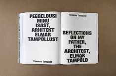 Graphic designer Laura Pappa's architecturally-informed book design My Father, Book Design, Cards Against Humanity, Graphic Design, Books, Editorial, Layout, Typography, Libros