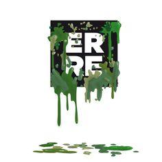 Green Erre #illustration #green #erre #erreurrutia | www.erreurrutia.com My Works, Symbols, Letters, Illustration, Design, Art, Art Background, Icons, Illustrations
