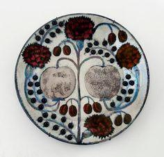 Cerâmica Silver Apples (1945), de Birger Kaipiainen, na Hostler Burrows