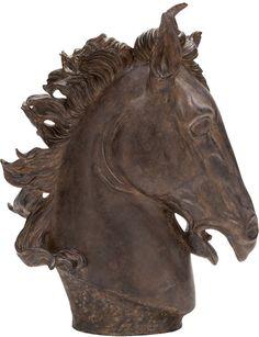 """UMA Inc Ps Horse Head 25""""H, 22""""W"""