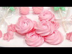 Reteta BEZELE DE CASA - pas cu pas - Anyta Cooking - YouTube Ballerina Birthday Parties, Macarons, Fondant, Biscuits, Cakes, Rose, Party, Flowers, Youtube