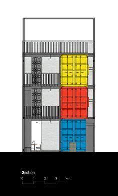 Gallery of Ccasa Hostel / TAK architects - 38