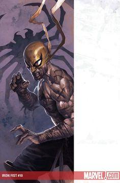 Iron Fist by Marko Djurdjevic Comic Book Covers, Comic Books Art, Comic Art, Luke Cage, Marvel Comic Character, Marvel Characters, Marvel Fan, Marvel Heroes, Iron Fist Powers