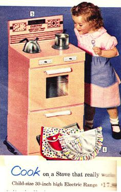 Electric Stove Makes Real Cakes