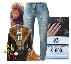 """""""🤘🏾"""" by jemilaa ❤ liked on Polyvore featuring Faith Connexion, WTAPS, River Island, UGG and NOVA"""