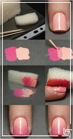 Ladies, get parlor like nails at home with this simple trick! #NailArt