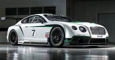 Bentley Continental GT3 Race car (+ video)