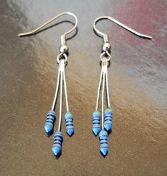 Resistor earrings