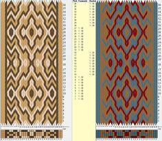 30 tarjetas, 3 colores, secuencia 9F-9B / sed_755 diseñado en GTT༺❁