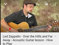 Over the hills and far away - Led Zep Guitar Lesson by Martyzsongs