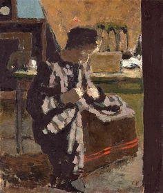 Sewing by Edouard Vuillard