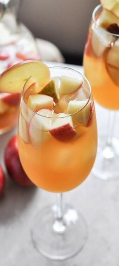 Apple Cider Sangria ♥✤ | KeepSmiling | BeStayClassy - Just a thought to have as a drink at the wedding.. very fall-ish and classy halloween lol