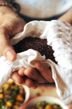 London Fridge | Black Quinoa