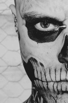 Rick Genest #zombieboy