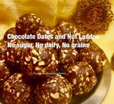 Collection of Easy and Quick Laddoo Recipes – Food, Fitness, Beauty and More Sugar Free Vegan, Vegan Gluten Free, Vegetarian Chocolate, Vegan Vegetarian, Diwali Food, After School Snacks, A Food, Food Processor Recipes, Breakfast Recipes
