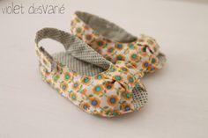 zapatos Kimono para bebé zapatos de bebé Kimono por VioletDesvarie
