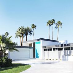 AQUA DOORS: The Real Houses of Palm Springs | Kelly Golightly