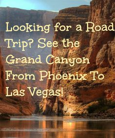 Want to take an epic road trip on your next family vacation? See the Grand Canyon from Phoenix to Las Vegas!  MyFamilyTravels.com