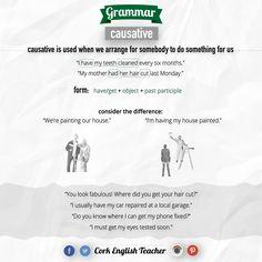 CAUSATIVE #learnenglish