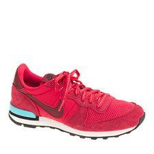 New kicks always make a workout better. J.Crew - Retro RED Nikes