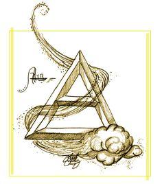 "Elements Air: ""Element: Air,"" by kaleeko, at deviantART. Aries, Bestie Tattoo, Zodiac Elements, Elemental Magic, Air Fire, Fifth Element, Book Of Shadows, Native American Art, Occult"