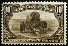 #290 10c Blackish Violet 1898 Trans Mississippi Expo VF *MNH* CV $450+ – #RareStamps at LittleArtTreasures.com http://littlearttreasures.com