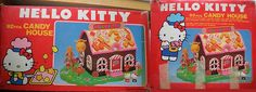 """""""Hello Kitty's Candy House takes you and your friends to a faraway fairyland you have visited only in your dreams. Please take good care of Kitty's Candy House and and keep it with you always.""""     Almost every young lady Really like hello kitty, so why don't you be around her for good?"""