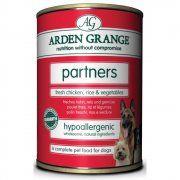 Arden Grange Partners Chicken and Rice Dog Food 4x6x395g