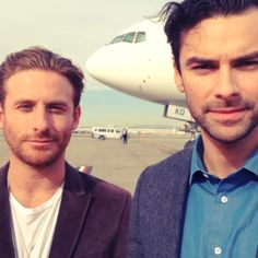 Aidan Turner & Dean O'Gorman | The Hobbit