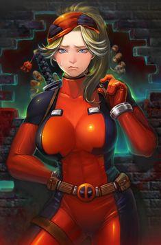 lady deadpool by iwazumi.deviantart.com on @DeviantArt
