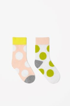 COS spotted socks