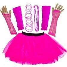 Neon Pink Tutu Skirt with Accessories. Up to size Fancy Dress Costumes For Women, Adult Fancy Dress, Fancy Dress Outfits, Girl Outfits, Dress Clothes, Pink Tutu, Pink Dress, Fancy Dress Accessories, Carnival