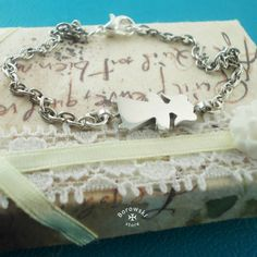 Girl bracelet free shipping  stainless steel от BorowskiStore