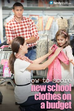 FamilyShare.com l How to score new school clothes on a budget