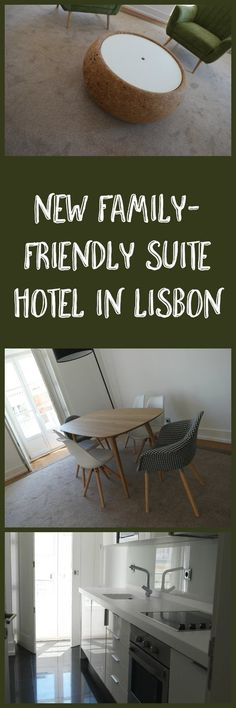 New Family-Friendly Suite Hotel open in Lisbon, Portugal - the Martinhal Chiado Family Suites Resort.