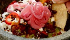 Enjoy fresh, delicious guacamole, at La Hacienda by Richard Sandoval, one of several restaurants, at the Fairmont Scottsdale Princess Resort. Pictured: Pepita Guacamole. VIDEO: La Hacienda by Richard Sandoval.