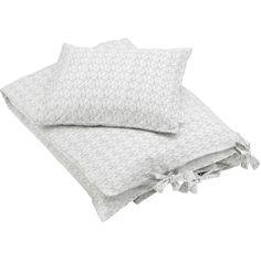 Konges Sloejd Sea Shell Toddler Bedding - off white