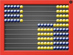 AL Abacus iPad app that we use with the Right Start Math program!