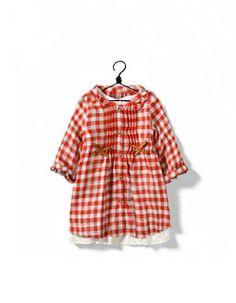 gingham girl's dress
