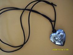 Avon ~OUTSPOKEN~ By Fergie Perfume Heart Necklace Brand New