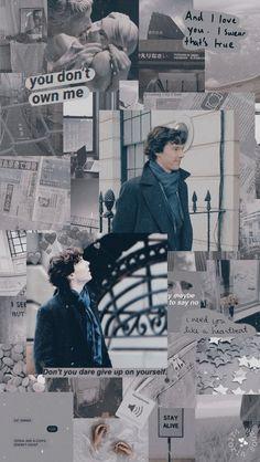 sherlock lockscreen - Doctor Who + sherlock funny Sherlock Holmes Bbc, Sherlock Fandom, Shinee Sherlock, Sherlock Holmes Wallpaper, Sherlock Holmes Dibujos, Sherlock Wallpaper Iphone, Sherlock Bbc Funny, Sherlock Holmes Robert Downey, Doctor Strange