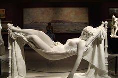 Woman on Hammock, Antonio Frilli