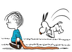 ROCKET WRITES A STORY: VISUAL COMMUNICATION [Art Masterpiece] Peanuts by Charles M. Schulz | Use archived comic strips for art discussions | Art Element: Line