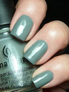 Elephant Walk. New from the China Glaze Fall 2012 On Safari Collection. China Glaze Nail Lacquers #chinaglaze #OPI @opulentnails over 12,000 pins